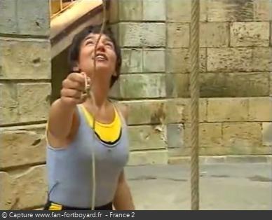 Fort Boyard - Catapulte avec mise en scène ''poignée'' (1995)