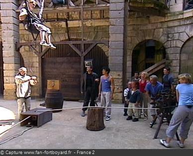 Fort Boyard - Catapulte avec mise en scène ''corde'' (1996-2004 et 2013)