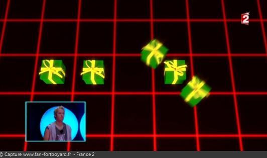 Fort Boyard - Cellule interactive (Enigmes visuelles) - Cadeaux (Nouvel An)