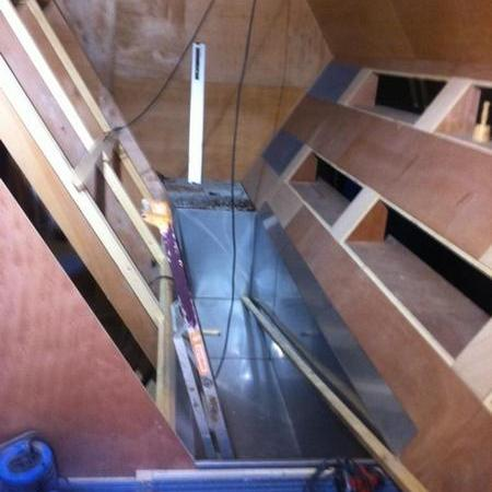 Coulisses des tournages de Fort Boyard - Construction de l'épreuve de la Ketchuperie (2014)