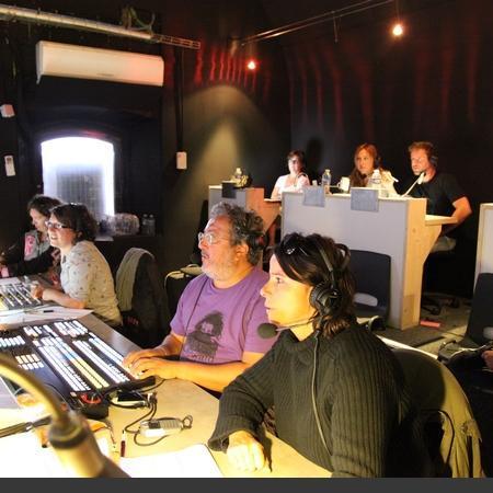 Coulisses des tournages de Fort Boyard - Tournage en cours depuis la régie vidéo (Québec 2014)