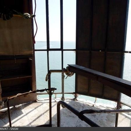 Coulisses des tournages de Fort Boyard - La décoration est retirée de la vigie (2019)