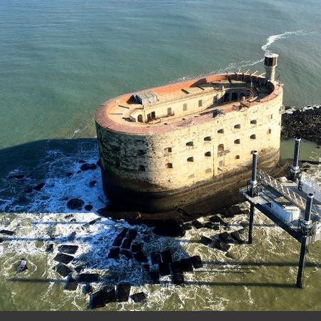 Coulisses des tournages de Fort Boyard - Le monument est isolé pendant tout l'hiver (2016-2017)
