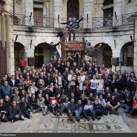 Coulisses des tournages de Fort Boyard - Les équipes techniques du fort (2019)