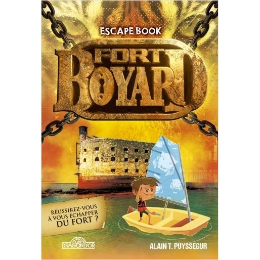 Livre Fort Boyard Escape Book en vente à partir du 20 juin 2019