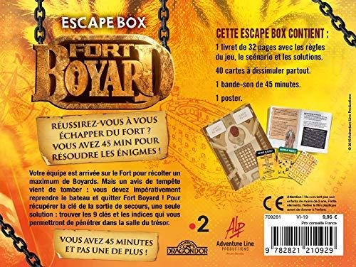Jeu Fort Boyard Escape Box en vente à partir du 20 juin 2019