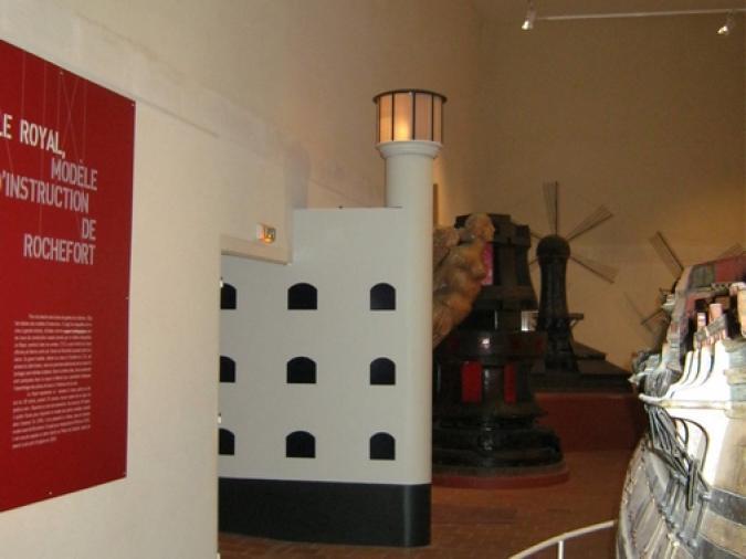 'entrée de l'exposition Fort Boyard, les aventures d'une star