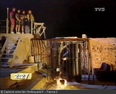 Fort Boyard - Fondeur de lettres (1992 - extérieur cage)