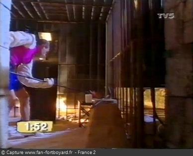 Fort Boyard - Fondeur de lettres (1992 - intérieur cage)