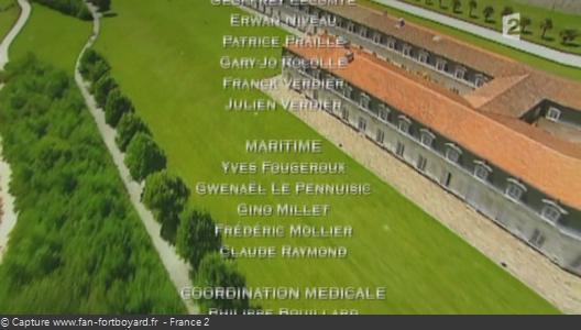 Générique de fin de Fort Boyard - Vue n°3