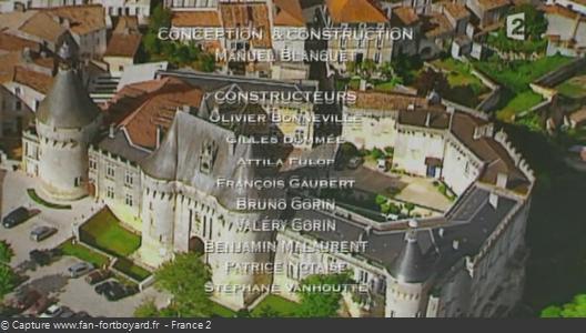 Générique de fin de Fort Boyard - Vue n°5