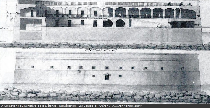 Projet du Fort Boyard en 1801