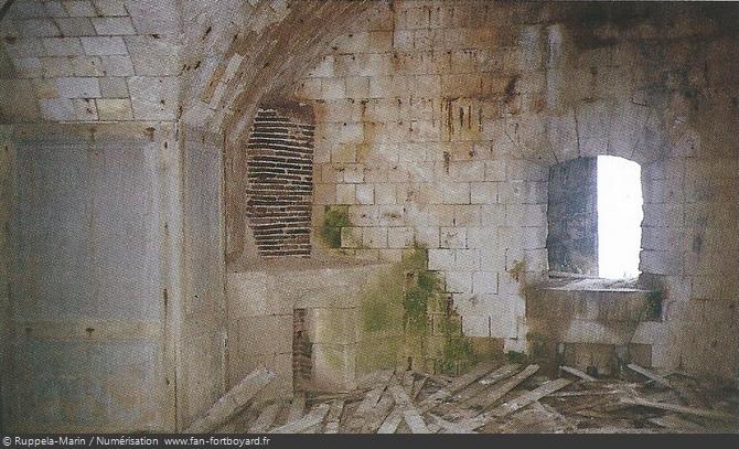 La cellule 218 avant le nettoyage