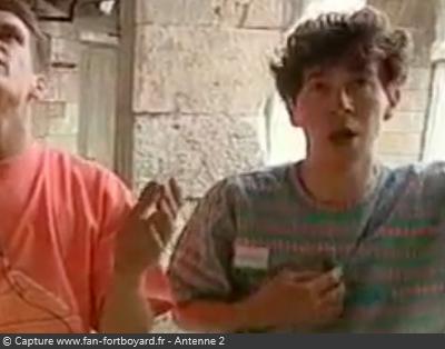 Interview de Dominique DEBRIEVE - Candidat des Clés de Fort Boyard 1990
