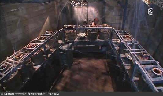 Fort Boyard - Jarres (cellule 217 - 2008-2012)