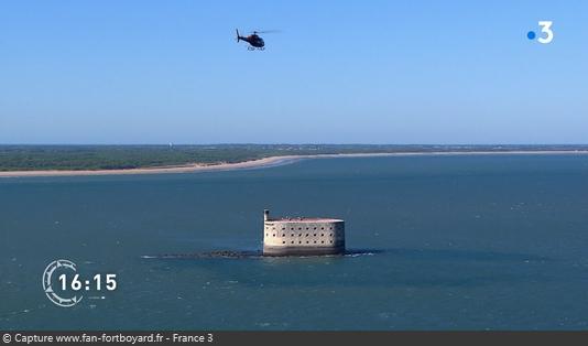 La Carte aux Trésors de passage sur le Fort Boyard (émission du 17/04/2019)