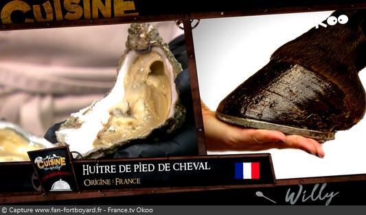 La Cuisine de Willy 2020-03 - Maxime et Jade (la dégustation : Huître de pied de cheval)