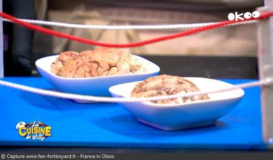 La Cuisine de Willy 2020-05 - Lilou et Lola (la dégustation : Cervelle de veau)