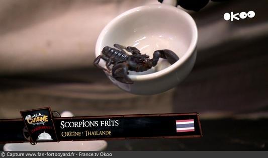 La Cuisine de Willy 2020-06 - Naël et Rayan (la dégustation : Scorpions frits)