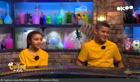 La Cuisine de Willy 2020-08 - Nour et Adam (les kids)