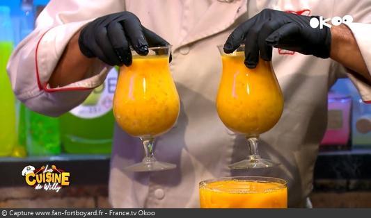 La Cuisine de Willy 2020-12 - Lior et Salomé (la dégustation : Œuf d'autruche)