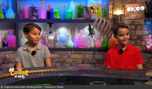 La Cuisine de Willy 2020-13 - Alexandre et Jules (les kids)