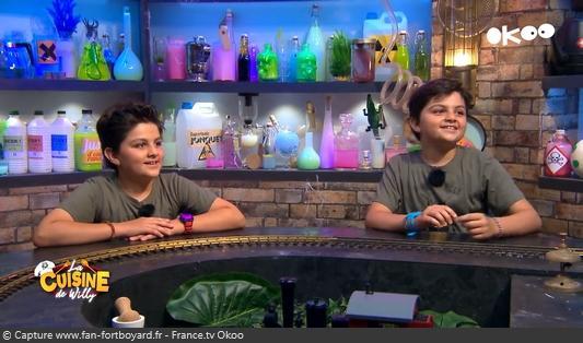 La Cuisine de Willy 2020-15 - Adrien et Jules (les kids)
