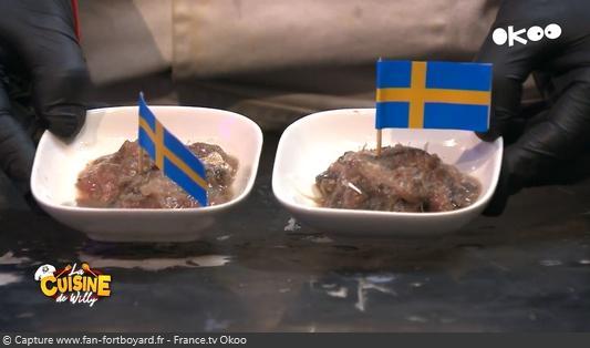 La Cuisine de Willy 2020-16 - Djibril et Sahel (la dégustation : Surströmming)