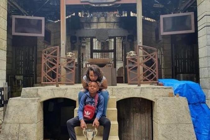 Visite du Fort Boyard lors des tournages des émissions La Cuisine de Willy en juin 2020