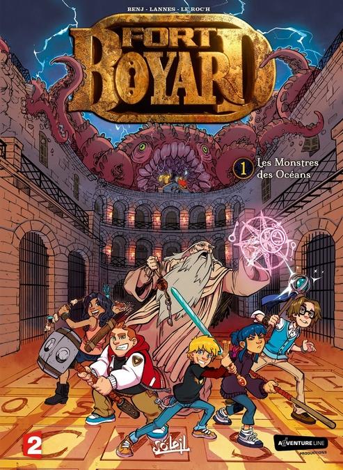 """Bande-dessinée """"Fort Boyard - Les Monstres des Océans"""" V1 dès le 6 juillet 2016"""