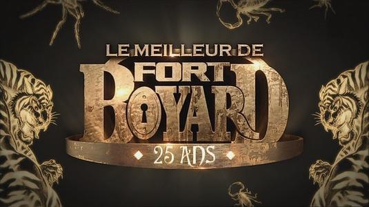 """Logo """"Le meilleur de Fort Boyard - 25 ans"""" (28 juin 2014)"""