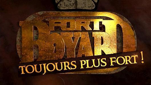 """Logo """"Fort Boyard : toujours plus fort !"""" (7 juillet 2018)"""