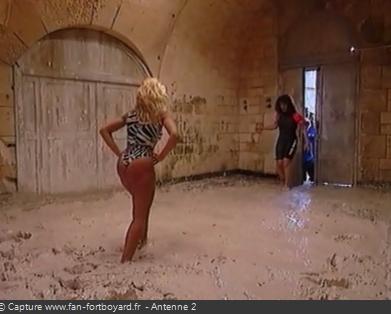 Fort Boyard - Lutte dans la boue (cellule 208 - 1991 à 1999)