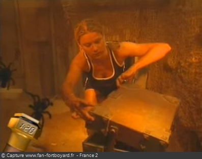 Fort Boyard - Demoiselles du Fort  - Cellule 223 (1996-2001)