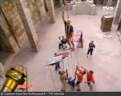 Fort Boyard - Marches