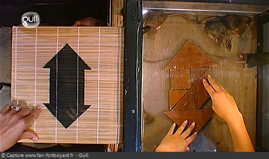 Fort Boyard - Mr Tchan - Version tangram (2007-2008)