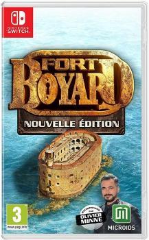 Jeu vidéo Fort Boyard - Nouvelle Édition de Microïds en vente à partir du 25 juin 2020 - Visuel Nintendo Switch