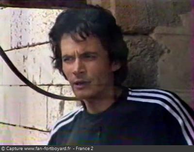 Fort Boyard -Olivier Minne en 1997