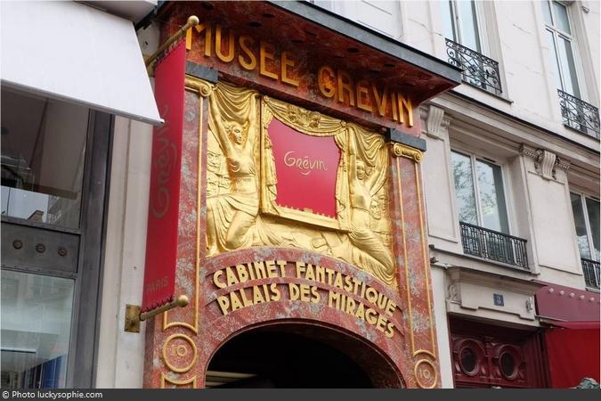 Façade du Musée Grévin à Paris