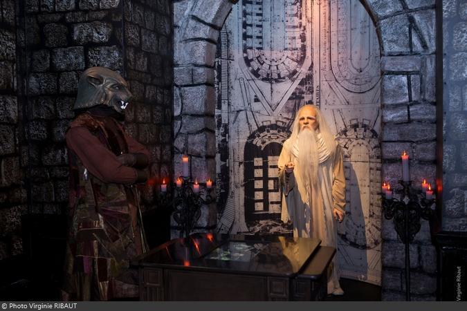 Espace Fort Boyard avec le Père Fouras au musée Grévin à Paris