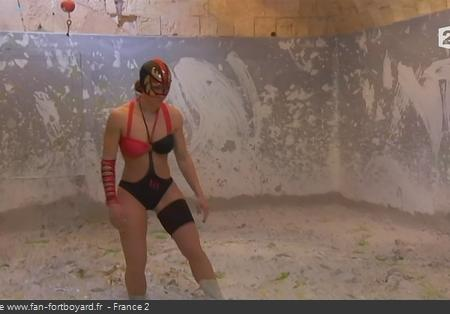 Fort Boyard - Lady Boo en 2012