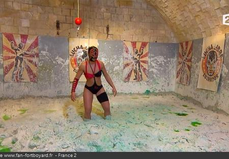 Fort Boyard - Lady Boo en 2014