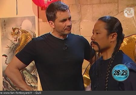 Fort Boyard - Monsieur Tchan en 2008