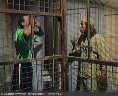 Fort Boyard - Prisonniers en 1990
