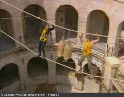 Fort Boyard - Pont de singe (2006)