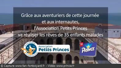 Fort Boyard Prince 2013 : Résultat