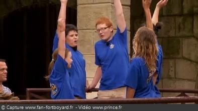 Fort Boyard 2012 - Equipe Prince 2