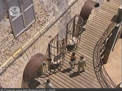 Fort Boyard : Prisons de 1998 à 2002