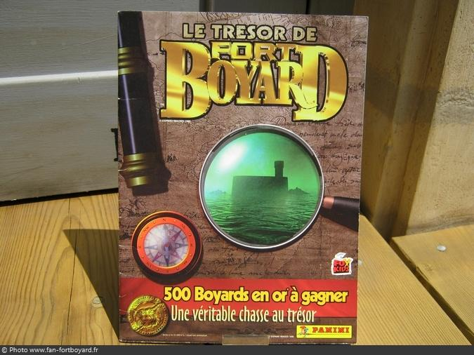 Album Panini - Le Trésor de Fort Boyard (1998)