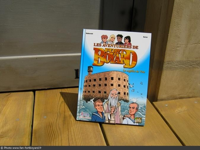 Bande-dessinée - Fort Boyard, le mystère de Yule (2005)
